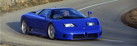 The Bugatti EB110 Registry