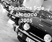 """Les Grandes Marques à Monaco"", fine cars sales by Bonhams"