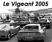 Ferrari meeting at the Val De Vienne circuit