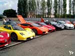Supercar Rally 2003 line up